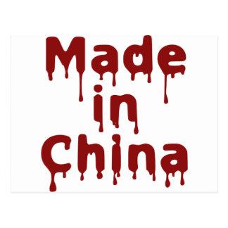 Hecho en China Tarjetas Postales