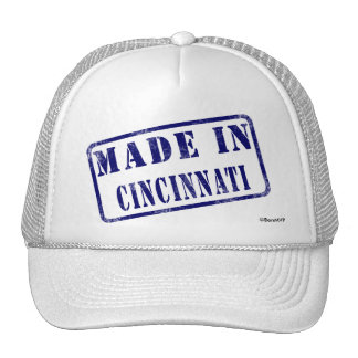 Hecho en Cincinnati Gorra