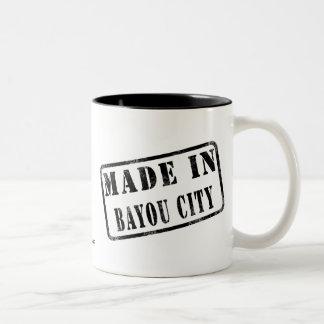 Hecho en ciudad del pantano taza de café
