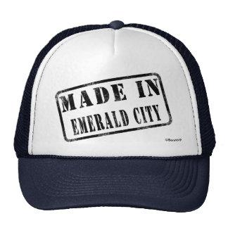 Hecho en ciudad esmeralda gorras