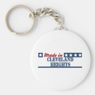 Hecho en Cleveland Heights Llaveros Personalizados