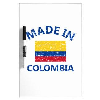 Hecho en Colombia Pizarras Blancas