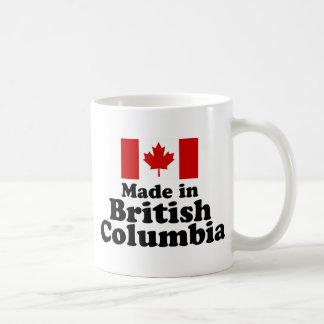 Hecho en Columbia Británica Taza Clásica