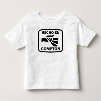 Hecho en Compton personalizado custom personalized Toddler T-shirt