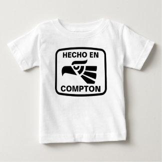Hecho en Compton personalizado custom personalized Tee Shirts