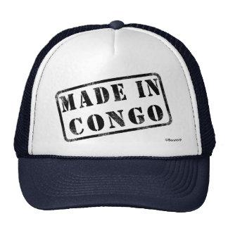 Hecho en Congo Gorras De Camionero