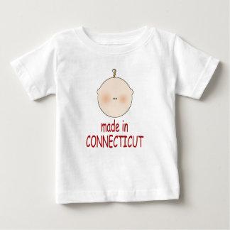 Hecho en Connecticut embroma la camiseta Remeras