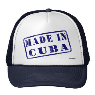 Hecho en Cuba Gorro