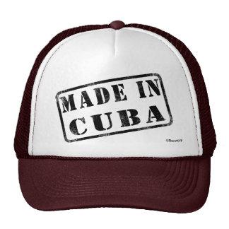 Hecho en Cuba Gorras