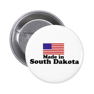Hecho en Dakota del Sur Pin