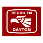 Hecho en Dayton personalizado custom personalized Post Card