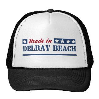Hecho en Delray Beach Gorros