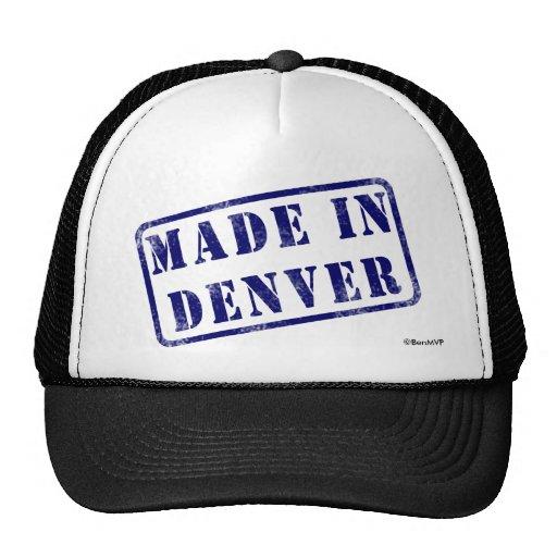 Hecho en Denver Gorro De Camionero