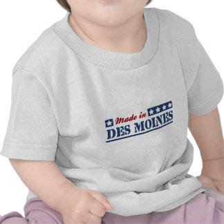 Hecho en Des Moines Camiseta