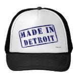 Hecho en Detroit Gorra