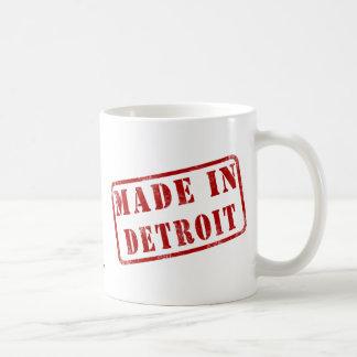 Hecho en Detroit Taza De Café