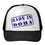 Hecho en Doha Gorro De Camionero