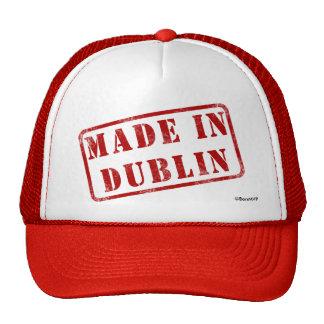 Hecho en Dublín Gorras