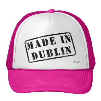 Hecho en Dublín Gorro De Camionero