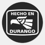 Hecho en Durango personalizado custom personalized Sticker