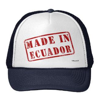 Hecho en Ecuador Gorras De Camionero