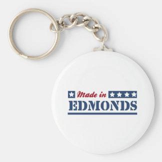 Hecho en Edmonds Llaveros Personalizados