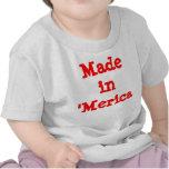 Hecho en el 'bebé de Merica Camisetas