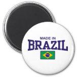 Hecho en el Brasil Imán De Frigorifico