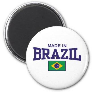 Hecho en el Brasil Imán Redondo 5 Cm