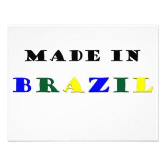 Hecho en el Brasil Comunicados Personalizados