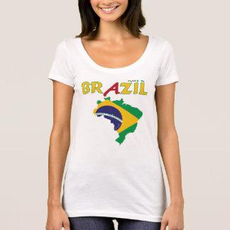 Hecho en el Brasil Playera