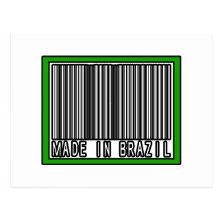 Hecho en el Brasil Tarjeta Postal