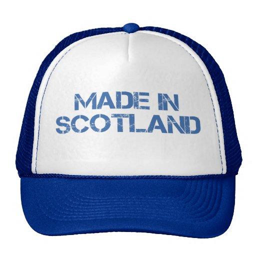 Hecho en el gorra de Escocia