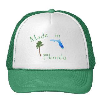 Hecho en el gorra de la Florida