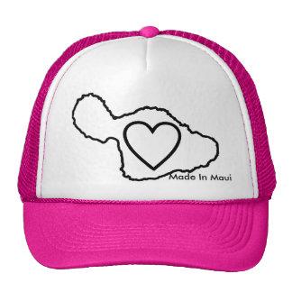 Hecho en el gorra de Maui