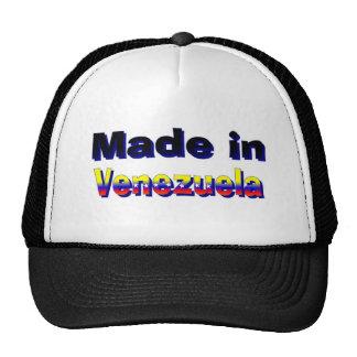 Hecho en el gorra de Venezuela