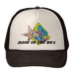 Hecho en el gorra retro del camionero de los años