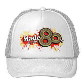 Hecho en el gorra rojo del splat de los años 80