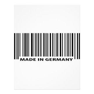 hecho en el icono de Alemania Tarjetón