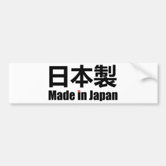 Hecho en el kanji escrito japonés de Nihon Sei del Pegatina Para Auto