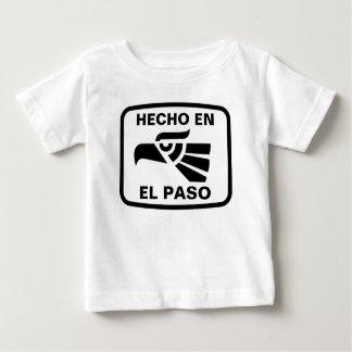 Hecho en El Paso personalizado custom personalized Tee Shirt
