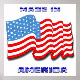 Hecho en el poster de América