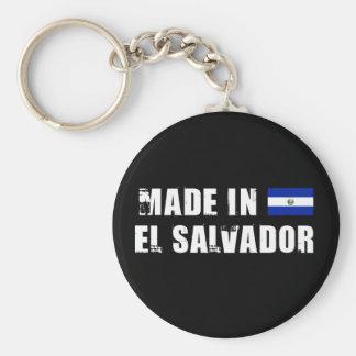 Hecho en El Salvador Llavero Redondo Tipo Pin