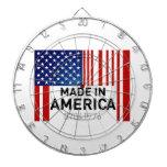 Hecho en el tablero de dardo de América los E.E.U. Tabla Dardos