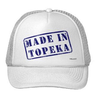 Hecho en el Topeka Gorro De Camionero
