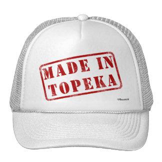 Hecho en el Topeka Gorro