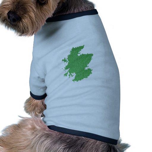 Hecho en Escocia Camisetas Mascota