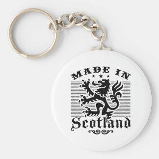 Hecho en Escocia Llaveros Personalizados