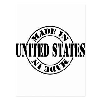 Hecho en Estados Unidos Tarjeta Postal