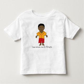 Hecho en Etiopía: Muchacho Playera De Bebé